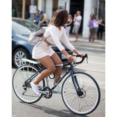 Какие мышцы работают при езде на велосипеде?