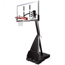 """Баскетбольная стойка мобильная, акрил Spalding Portable - 54"""" Acrylic арт 68564CN"""